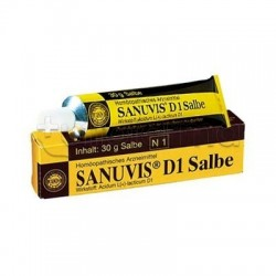 Sanum Sanuvis D1 Pomata Rimedio Omeopatico 30g
