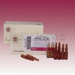 Sanum Utilin D6 Fiale Rimedio Omeopatico 10 Fiale 1ml