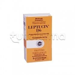 Sanum Leptucin D6 Rimedio Omeopatico 10 Supposte