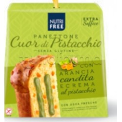 Nutrifree Premium Panettone Cuor di Pistacchio Senza Glutine 680g