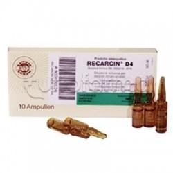 Sanum Recarcin D4 Fiale Rimedio Omeopatico 10 Fiale 1ml