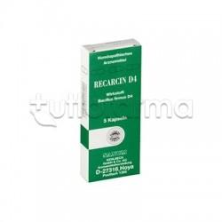 Sanum Recarcin D4 Rimedio Omeopatico 5 Capsule