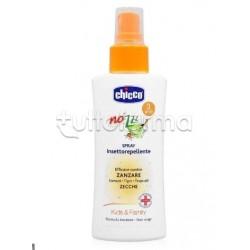 Chicco Spray Repellente per Insetti per Adulti e Bambini 100ml