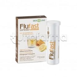 Bios Line Flufast Difese+ Integratore per Difese Immunitarie 20 Compresse Effervescenti