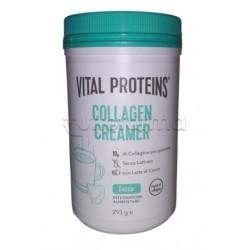 Nestlè Vital Proteins Collagen Creamer Integratore per Pelle, Capelli e Unghie Gusto Cocco 293g
