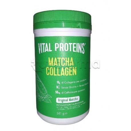 Nestlè Vital Proteins Matcha Collagen Integratore per Stanchezza 341g