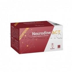 Neurodine Act Integratore per Benessere dei Nervi 10 Flaconcini