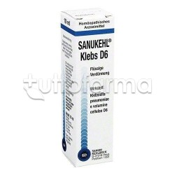 Sanum Sanukehl Klebs D6 Gocce Rimedio Omeopatico 10ml