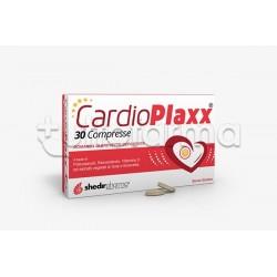 Shedir Cardioplaxx Integratore per Metabolismo dei Lipidi 30 Compresse