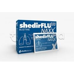 Shedir Shedirflu 600 Naxx Integratore per Tosse e Catarro Gusto Limone 20 Bustine