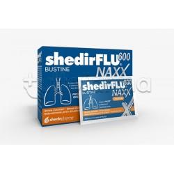 Shedir Shedirflu 600 Naxx Integratore per Tosse e Catarro Gusto Arancia 20 Bustine