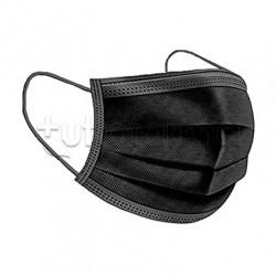 Mascherina Chirurgica Monouso My Mask Pro Nera All Black- Confezione 10 Pezzi - 20 Centesimi a Mascherina