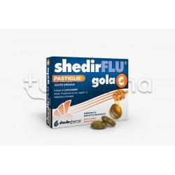 Shedir Shedirflu Gola C Integratore per Gola Gusto Arancia 48 Pastiglie