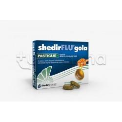 Shedir Shedirflu Gola Integratore per Gola Gusto Mentolo e Eucaliptolo 48 Pastiglie
