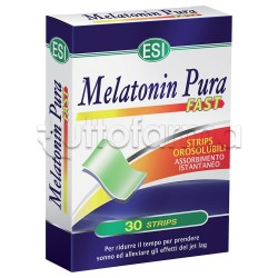 Esi Melatonin Pura Fast Sonno Tranquillo 30 Strips 1 Gr