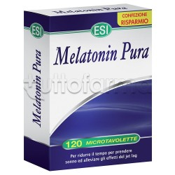 Esi Melatonin Pura Sonno Tranquillo 1 mg 120 Microtavolette