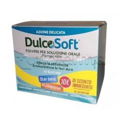 Dulcosoft Integratore per Stitichezza Confezione Doppia 20 + 20 Bustine