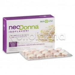 Bios Line Neo Donna Isoflavoni Integratore per Menopausa 30 Compresse