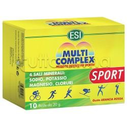 Esi Multicomplex Sport Vitamine e Minerali 10 Bustine 20g
