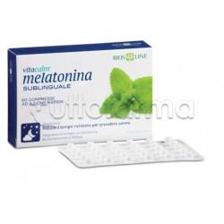 Bios Line Vitacalm Melatonina Integratore per Sonno 120 Compresse
