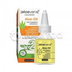 Zuccari Aloe Vera 2 Aloe Oil Lenitivo per la Cute 50ml