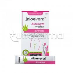 Zuccari Aloe Vera 2 Aloe Cyst Integratore per Benessere delle Vie Urinarie 15 Stick