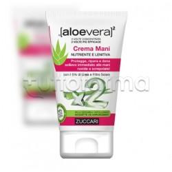 Zuccari Aloe Vera 2 Crema Mani Nutriente e Lenitiva 50ml