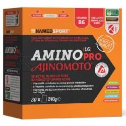 Named Sport Amino 16 Pro Ajimoto Aminoacidi Essenziali per Sport 30 Bustine