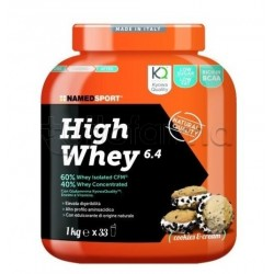 Named Sport High Whey 6.4 Proteine Gusto Cookies&Cream 1Kg