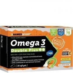 Named Sport Omega 3 Double Plus Integratore con Omega 3 30 Capsule Molli
