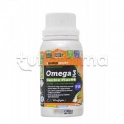 Named Sport Omega 3 Double Plus Integratore con Omega 3 60 Capsule Molli