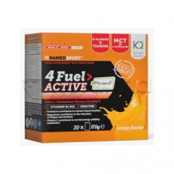 Named Sport 4 Fuel Active Integratore Energetico per Sportivi 20 Bustine