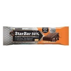 Named Sport StarBar 50% Barretta Proteica Gusto Cioccolato 50g