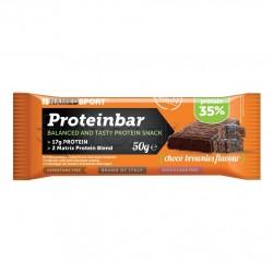 Named Sport Protein Bar Barretta Proteica Gusto Brownie al Cioccolato 50g