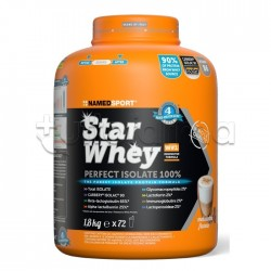 Named Sport Star Whey PERFECT ISOLATE 100% Proteine Gusto Mokaccino 1,8Kg