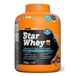 Named Sport Star Whey PERFECT ISOLATE 100% Proteine Gusto Sublime Chocolate 1,8Kg