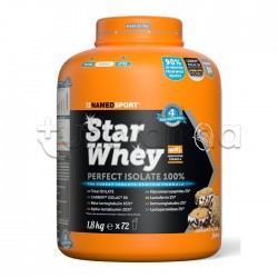 Named Sport Star Whey PERFECT ISOLATE 100% Proteine Gusto Cookies&Cream 1,8Kg