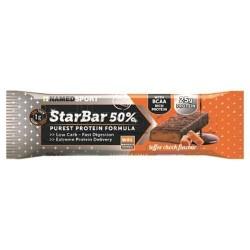 Named Sport StarBar 50% Barretta Proteica Gusto Cioccolato e Caramello 50g