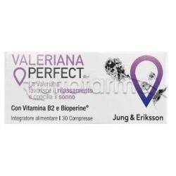 Zuccari Valeriana Perfect Integratore Rilassante 30 Compresse