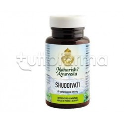 Maharishi Ayurveda Shuddivati Integratore Drenante 60 Compresse