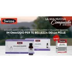 Swisse Beauty Collagene Diamond Integratore Anti-Age per Pelle Matura 10 Flaconcini