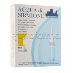 Acqua di Sirmione Fluidificante Anti-Catarro 6 Flaconcini