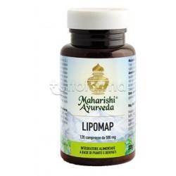 Maharishi Ayurveda Lipomap Integratore Metabolismo Lipidi 120 Compresse