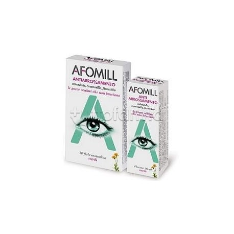 GOCCE OCULARI AFOMILL ANTIARROSSAMENTO 10 ML