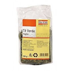 Fior di Loto Tè Verde Bevanda Biologica 100g