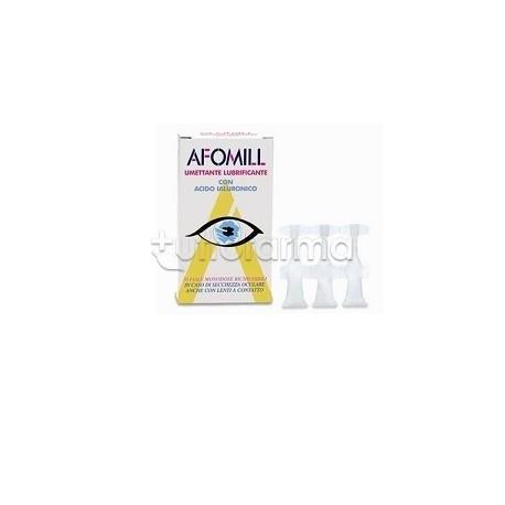 GOCCE OCULARI AFOMIL UMETTANTE LUBRIFICANTE 10 FIALE 0,5 ML