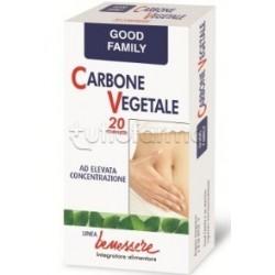 AFOM Good Family Carbone Vegetale 20 Compresse