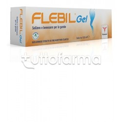 Flebil Gel Gonfiore e Affaticamento Gambe 100 ml