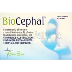 Biocephal Integratore per Emicrania e Cefalea 30 Capsule