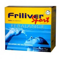 Friliver Sport Rebalance Integratore Sali Minerali 24 Bustine